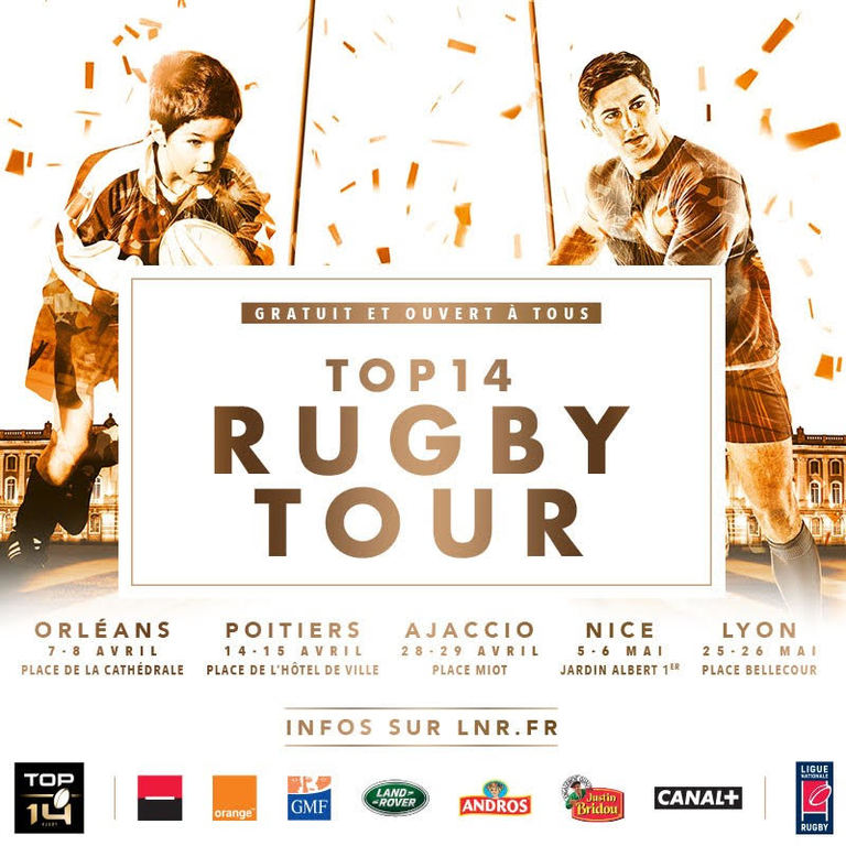 Le Top 14 Rugby Tour 2018